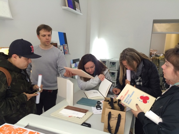 Checking out the library // Herbarium Riso